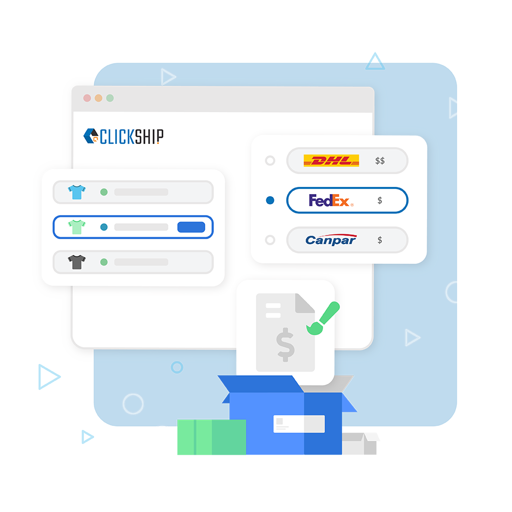 Access to ClickShip features