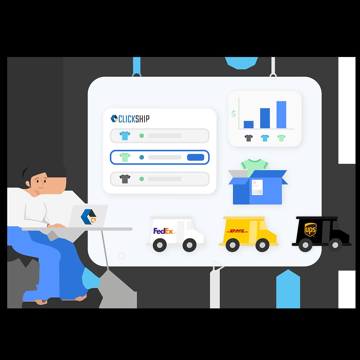 Using ClickShip's Interface