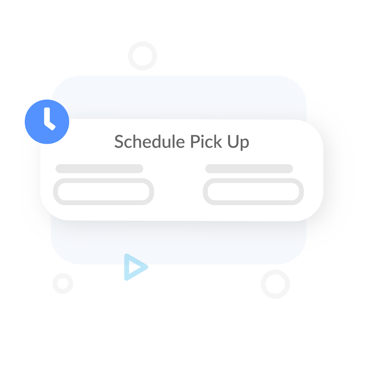 Interface for Scheduling Pickup